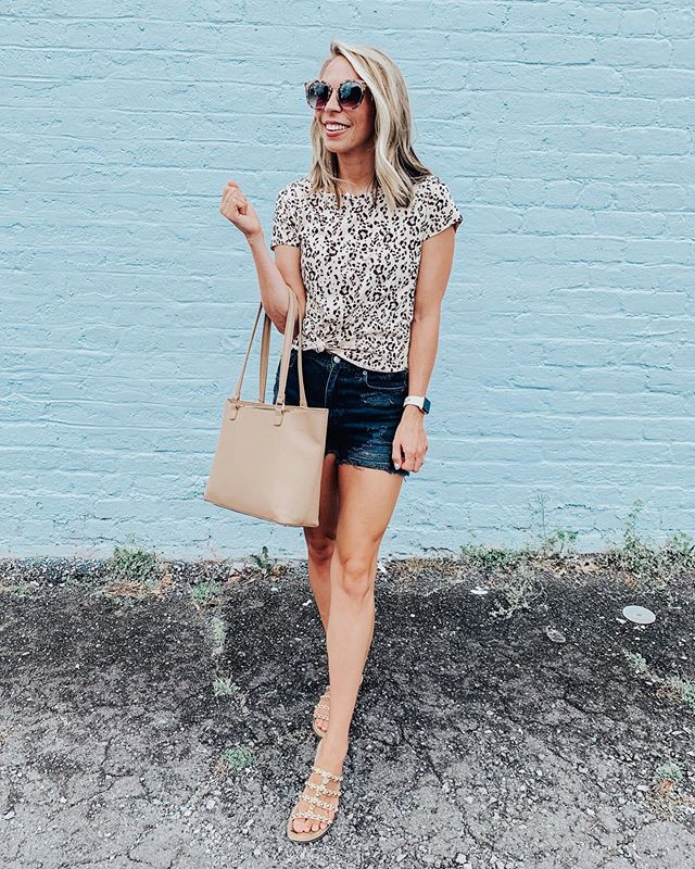 It's amazing what a good nights sleep, a venti coffee and a cute outfit can do for you💕 I am feeling so refreshed after a busy week/weekend. What do you do to get back in the groove of things after being super busy? . . This amazon find is 🙌🏼🙌🏼 I love a good cheetah print top and this one is my favorite! To shop: click the link in my bio or screenshot and shop through the @liketoknow.it app! http://liketk.it/2Dbgz #ltkunder20 #ltkit #amazonfashion #amazonfinds #affordablefashion