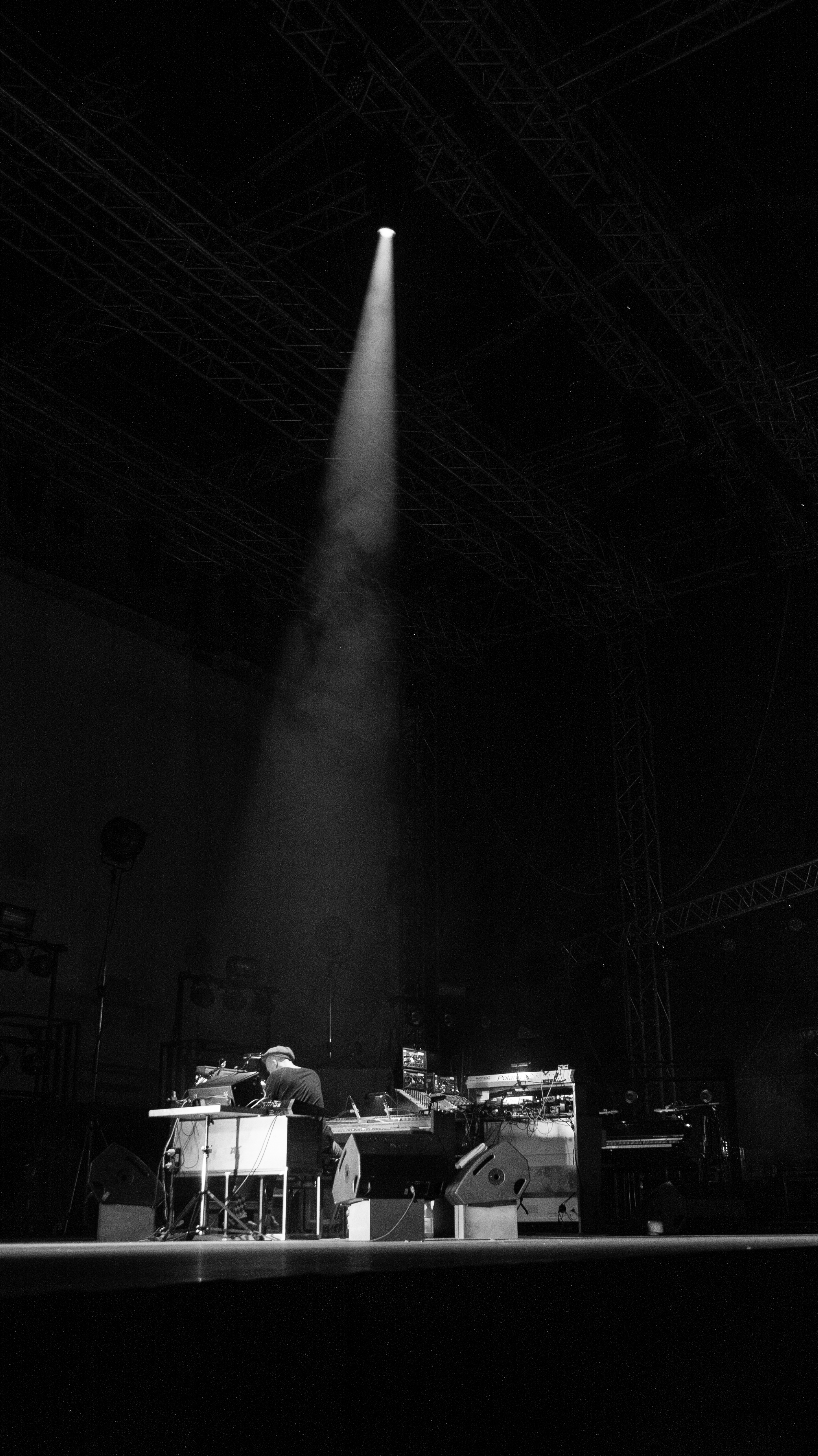 Nils Frahm at Dimensions Festival 2018 opening party