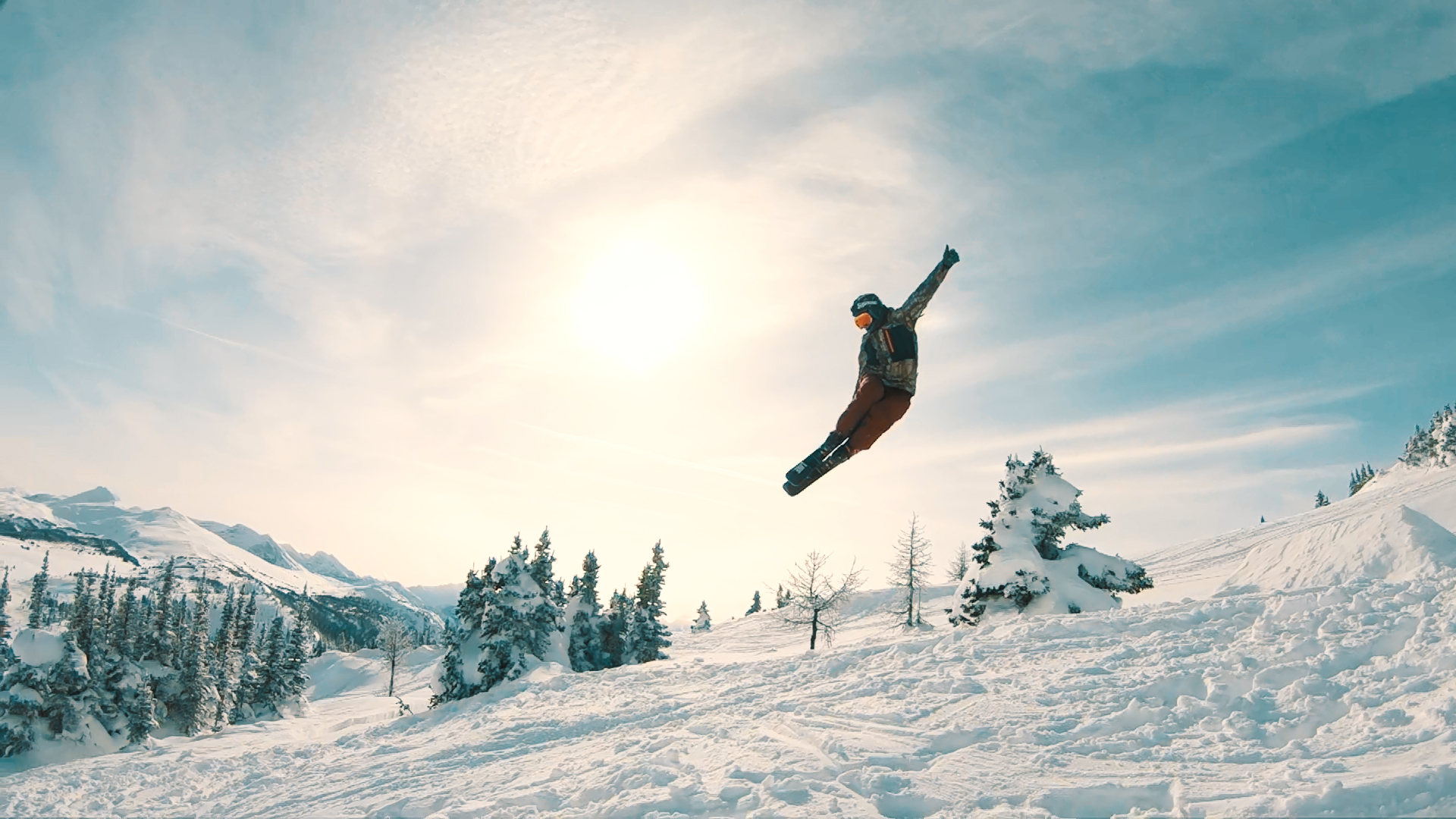 Beyond the Ropes at Sunshine Village, Banff -