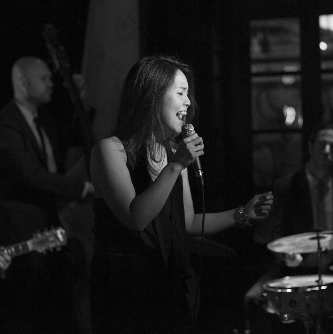 Chika and the Starry Night   Romantic jazz fronted by a husband and wife duo  →  Book CATSN  →  Learn More