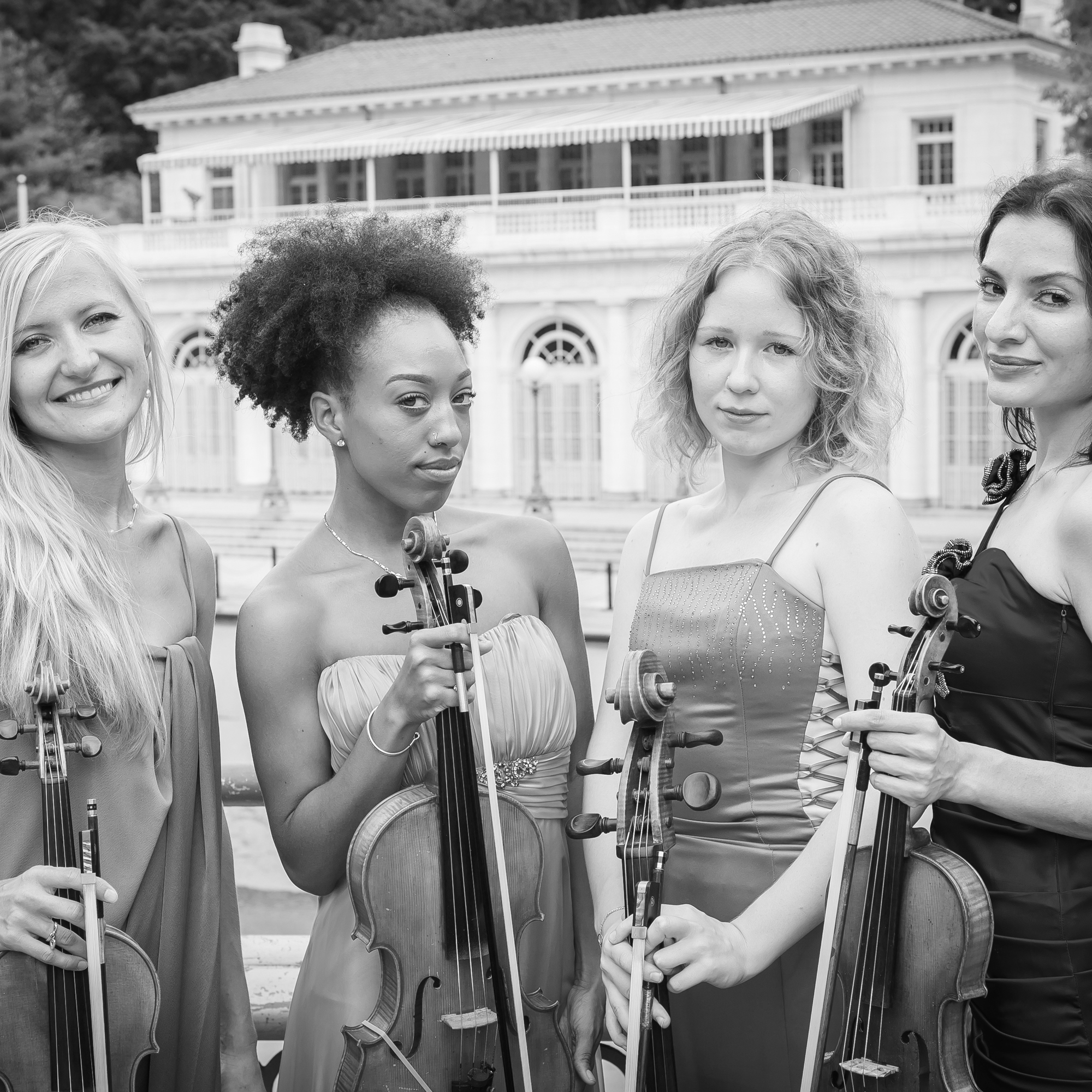 Four-Ever Yours String Quartet   Elegant, lush renditions of classical and popular favorites  →  Book Four-Ever Yours  →  Learn More