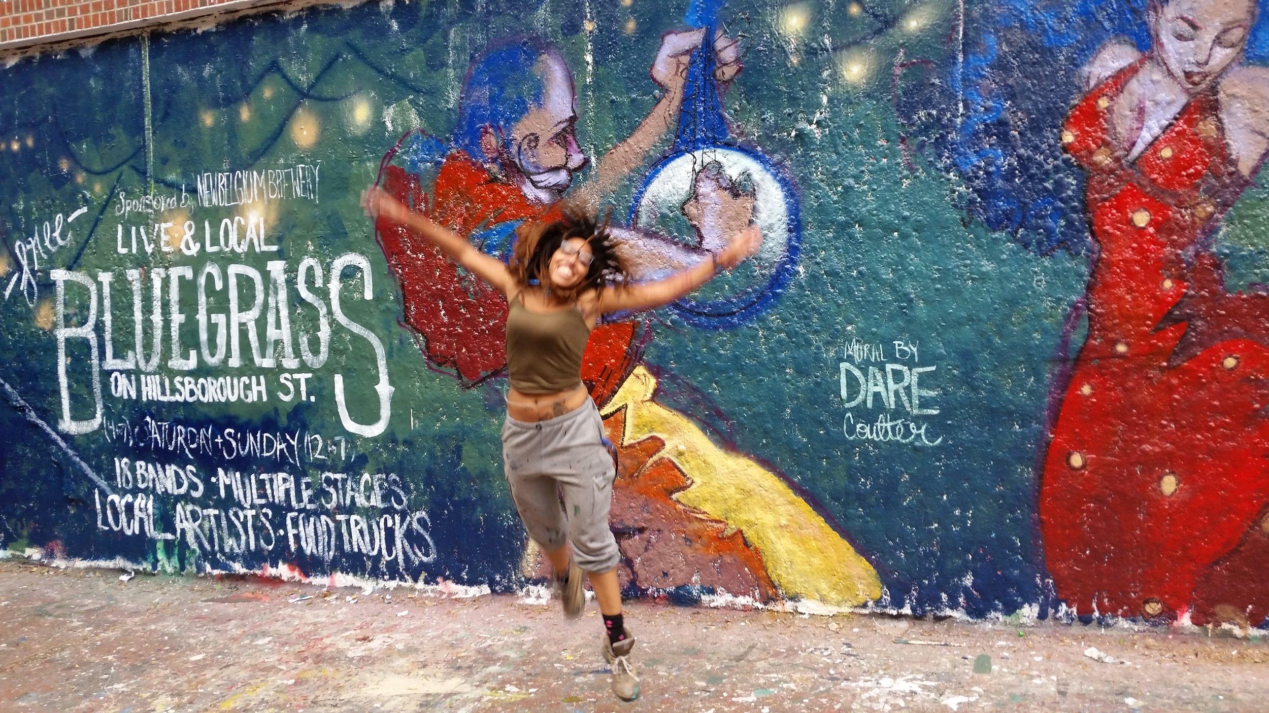 bluegrass mural