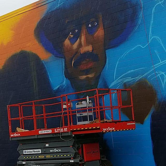 👀👀👀 y'all know what it is yet?  1420 E Cone Blvd, Greensboro, NC  @kotisstreetart  X @darecoulter  #mural #mural art #Greensboro