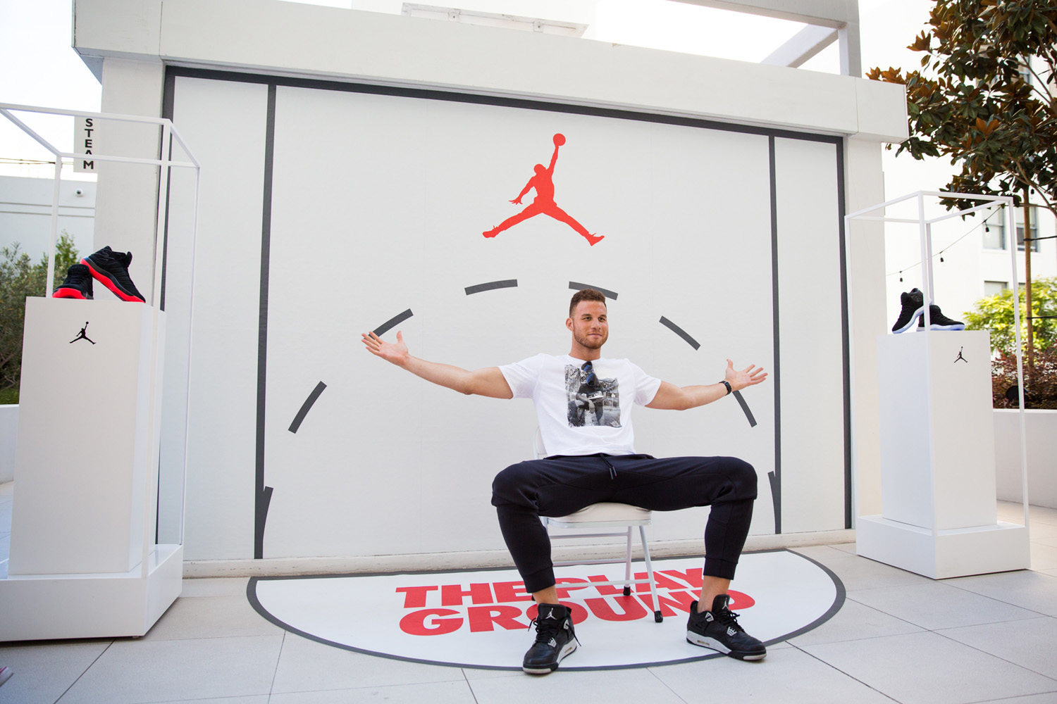 Blake Griffin, The Playground, Nike Jordan