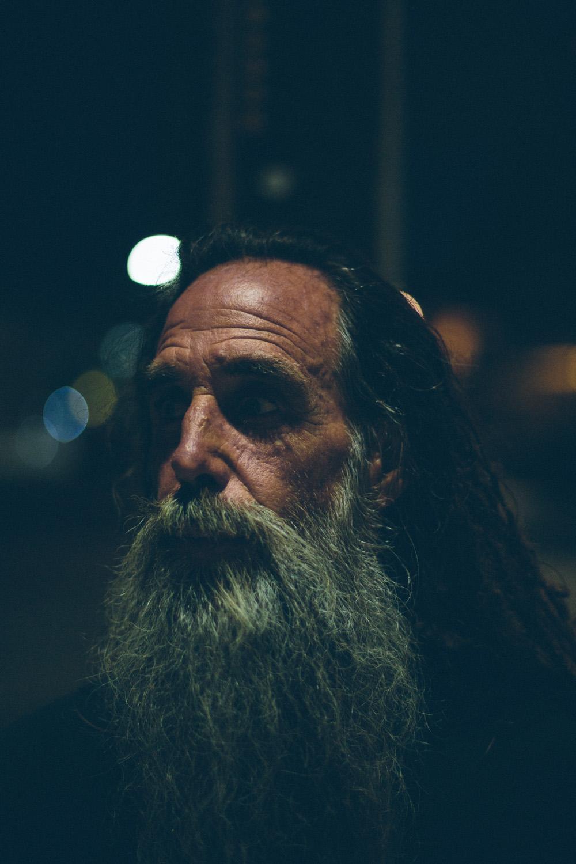 John Haffey portrait, La Jolla, CA