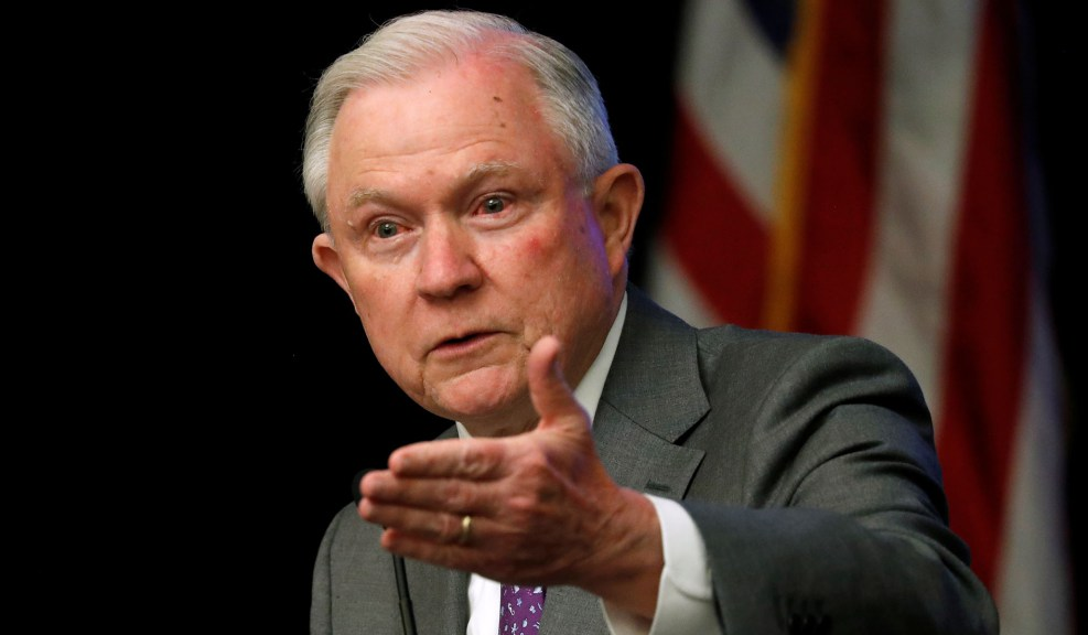 Attorney General Jeff Sessions. Photo: Jonathan Ernst/Reuters