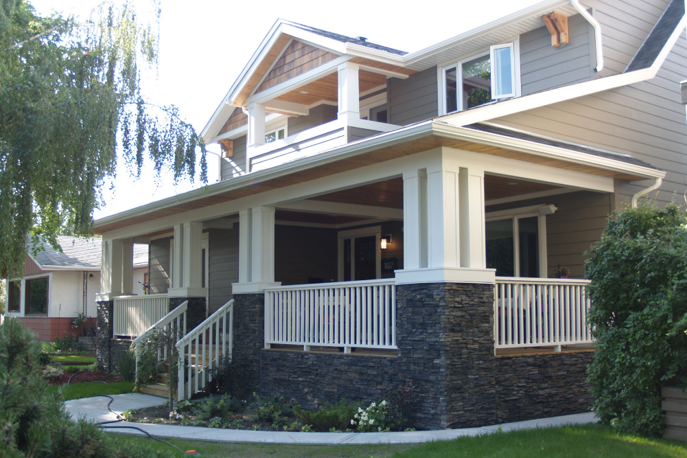 Full home renovation with second-story addition on Canmore Road in Calgary