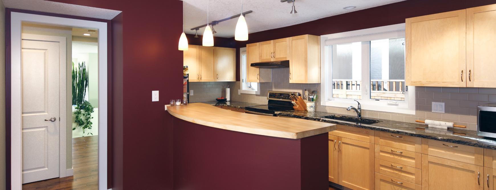 Kitchen Renovation in Hillhurst, Calgary