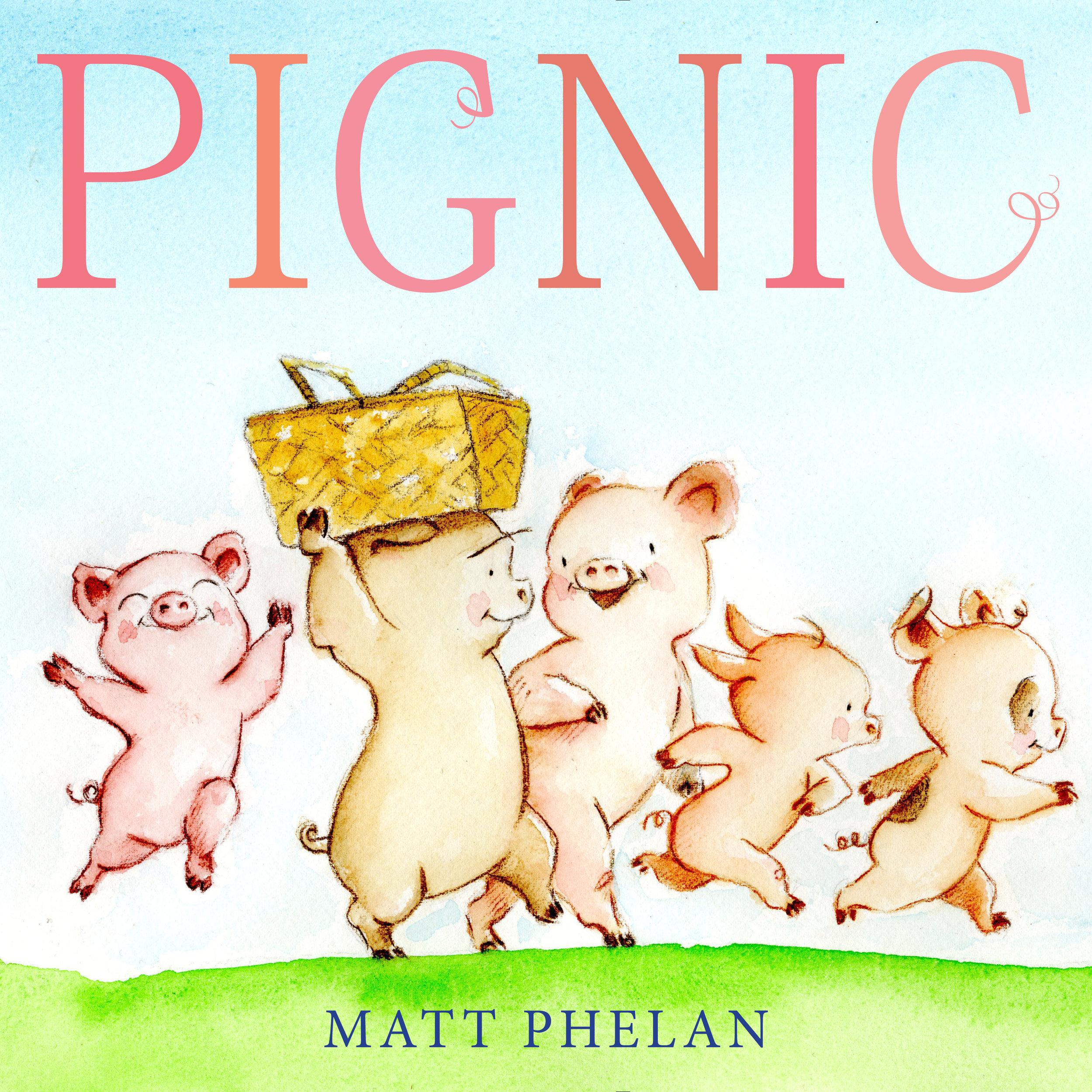 """★""""Readers will wish their own picnics could end in a similarly messy manner, and even more will adore the easygoing exuberance of Phelan's story."""" — Publishers Weekly  (starred review)"""