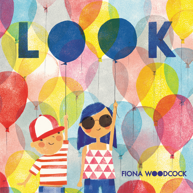 """""""With bright...illustration, Fiona Woodcock draws children's attention to the surprising frequency of double-o's in Look. ...[a] cheerful picture book.""""— Wall Street Journal"""