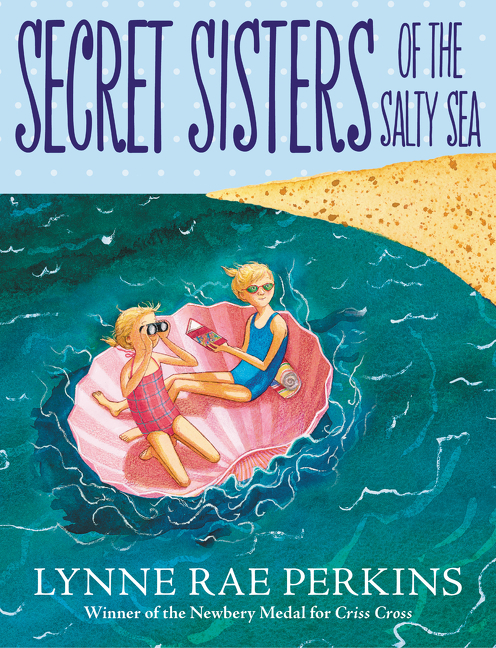 """""""Ocean meets sky meets two young girls in Lynne Rae Perkins's affectionate chapter book...the girls experience days filled with quiet, quirky wonders: sand castles and ocean currents, edible snails and giant beetles, injured raptors and mint-eating raccoons. Illustrations by the author add wit and tenderness to this sunny summer story.""""—  Wall Street Journal"""