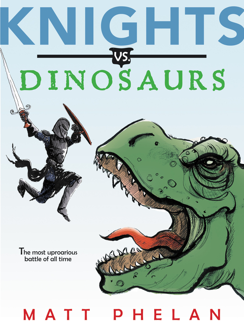 """""""Whether jousting with a triceratops or facing down a T-rex, [squire] Mel should come with a halo: She's thoughtful, sensitive, and wise. ...Drawn deftly, lightly.""""—  New York Times  Book Review"""