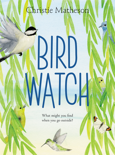 """""""From 10 black-capped chickadees to a single great horned owl, a countdown seek-and-find presents common birds. . . .It requires significant patience and persistence to find them all; the reward is a special surprise. . . .Fun and surprisingly successful as an invitation to look closely at the natural world."""" — Kirkus Reviews"""