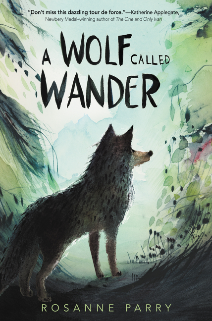 """""""Riveting and lyrical, A WOLF CALLED WANDER is a vibrantly imagined celebration of the natural world. Don't miss this dazzling tour de force.""""—Katherine Applegate, Newbery Medal-winning author of  The One and Only Ivan"""