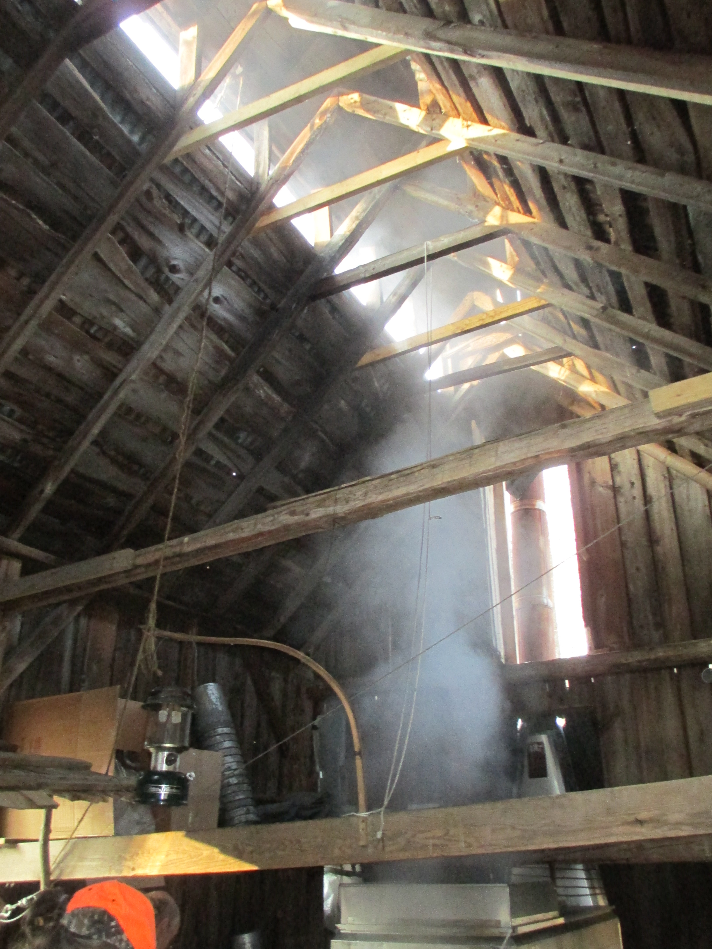 Inside the Sugar House