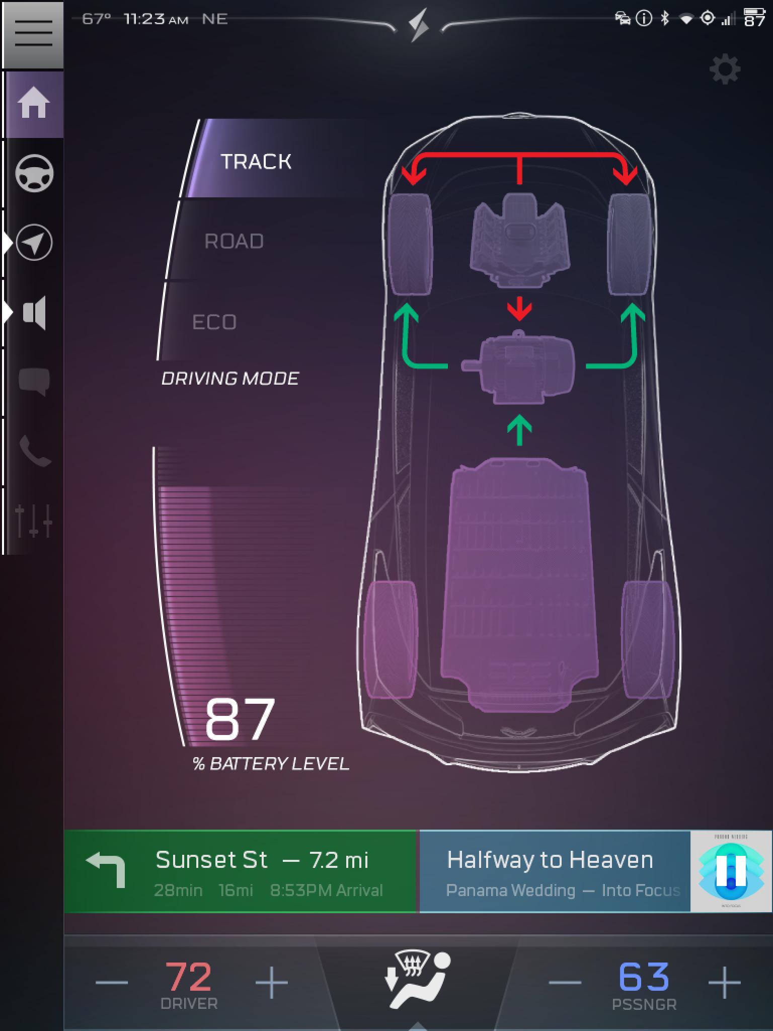 Vehicle Status (Sample)