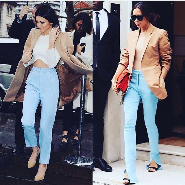 #whoworeitbetter @kendalljenner @victoriabeckham @blaquelabel  #croptop #fashion #shop #blaquelabel