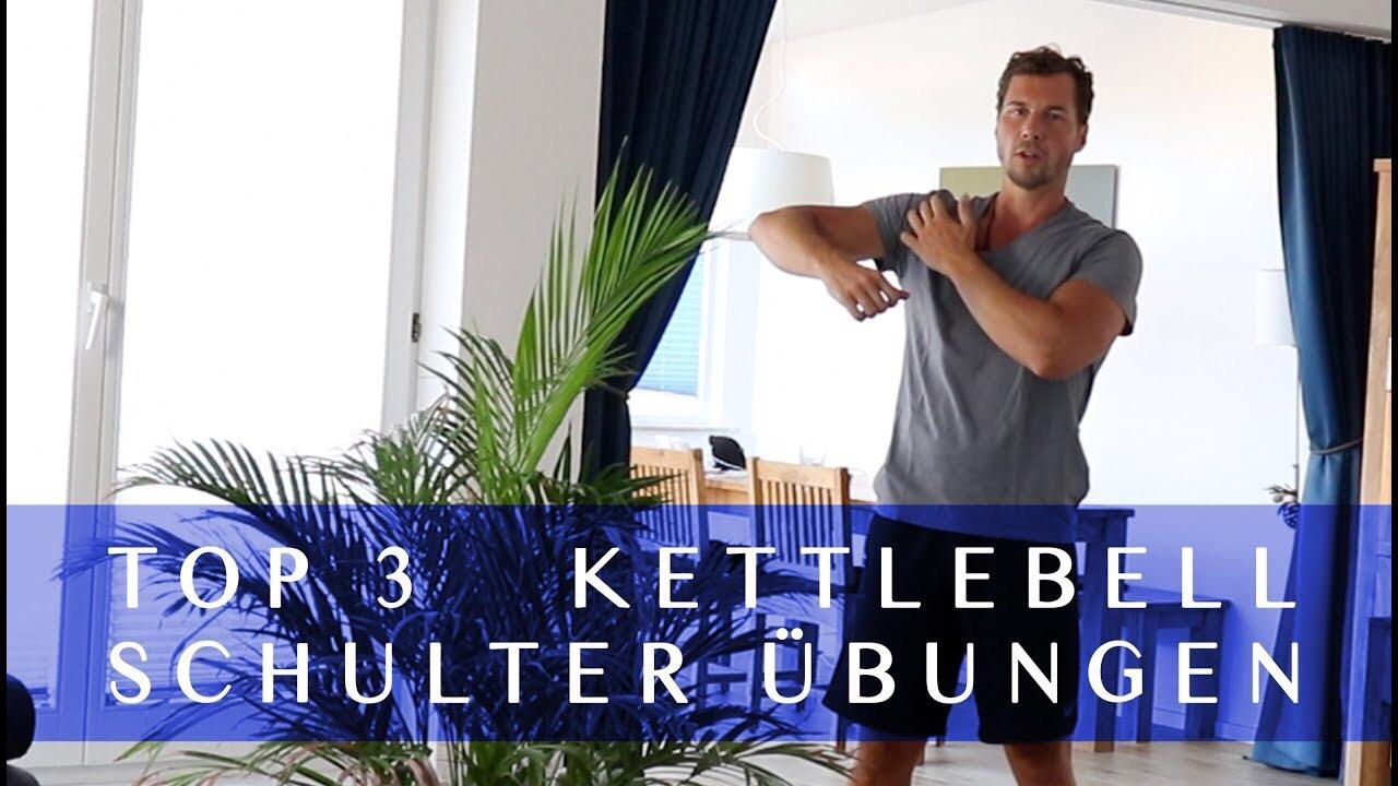 Schulter Übungen - Ziel: Starke Schultern aufbauenLevel: Einsteiger bis FortgeschritteneDauer: 3 min. Tutorial-VideoTrainingsgerät: 1 oder 2 Kettlebells
