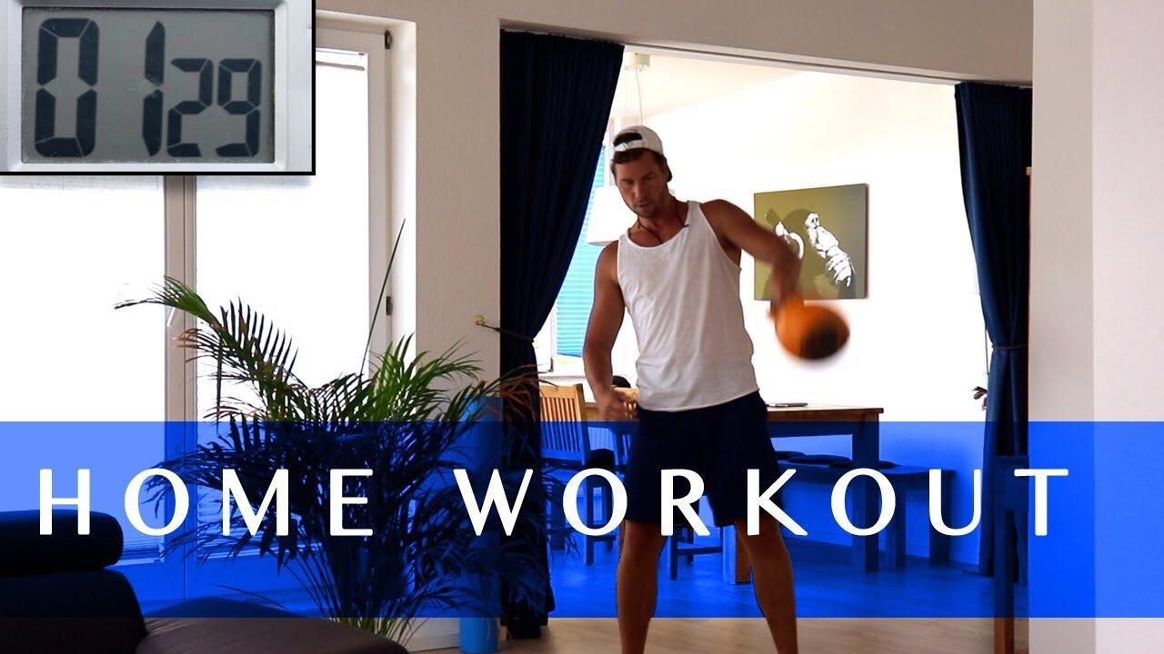 Home Workout - Ziel: Ganzkörper TrainingLevel: Ab geübter EinsteigerDauer: 23 min.Trainingsgerät: 1 Kettlebell