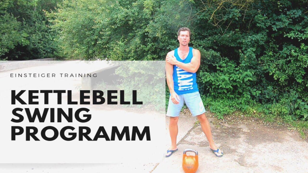 Swing Einsteiger - Ziel: Starker Rücken und KonditionLevel: Ab EinsteigerDauer: 5 - 10 min.Trainingsgerät: 1 Kettlebell