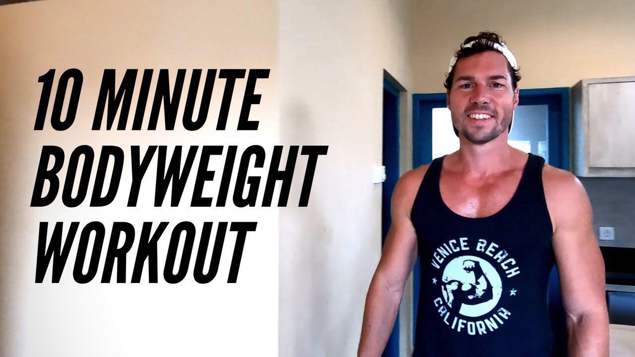 10´ Workout - Ziel: Ganzkörper-TrainingLevel: FortgeschritteneDauer: 10 MinutenTrainingsgerät: Eigenes Körpergewicht