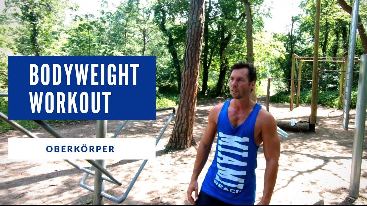 Pullups & Dips - Ziel: Kraft- und MuskelaufbauLevel: FortgeschrittenDauer: 20 - 30 min.Trainingsgeräte: Reck und Barren
