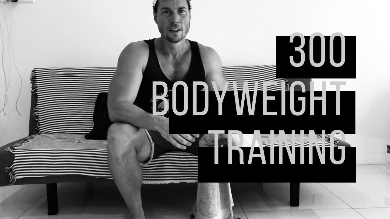 300 Workout - Ziel: Kondition & KRaftLevel: Ab mässig FortgeschrittenenDauer: 20 - 35 min.Trainingsgerät: Eigenes Körpergewicht