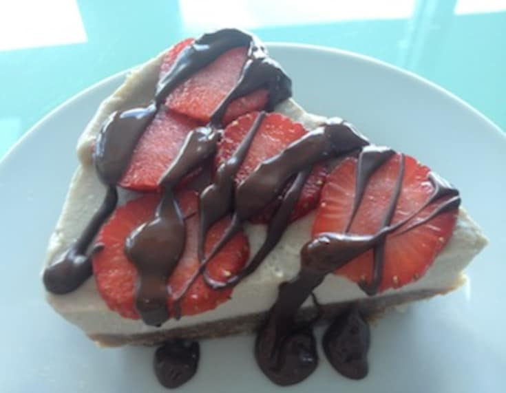 Valentine's Day Dessert Idea: Raw Banana Cream Pie -
