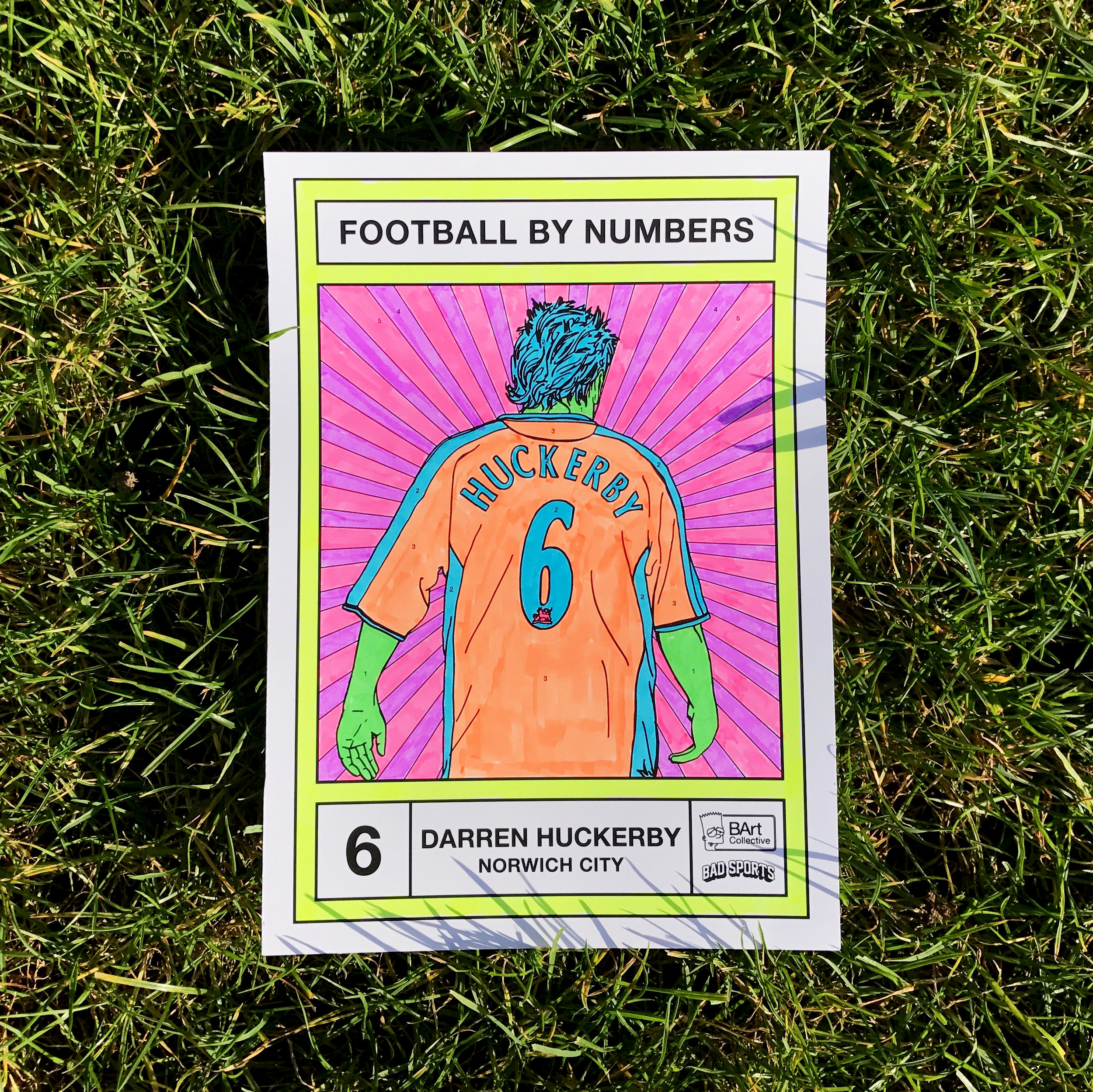 Darren Huckerby for Football By Numbers