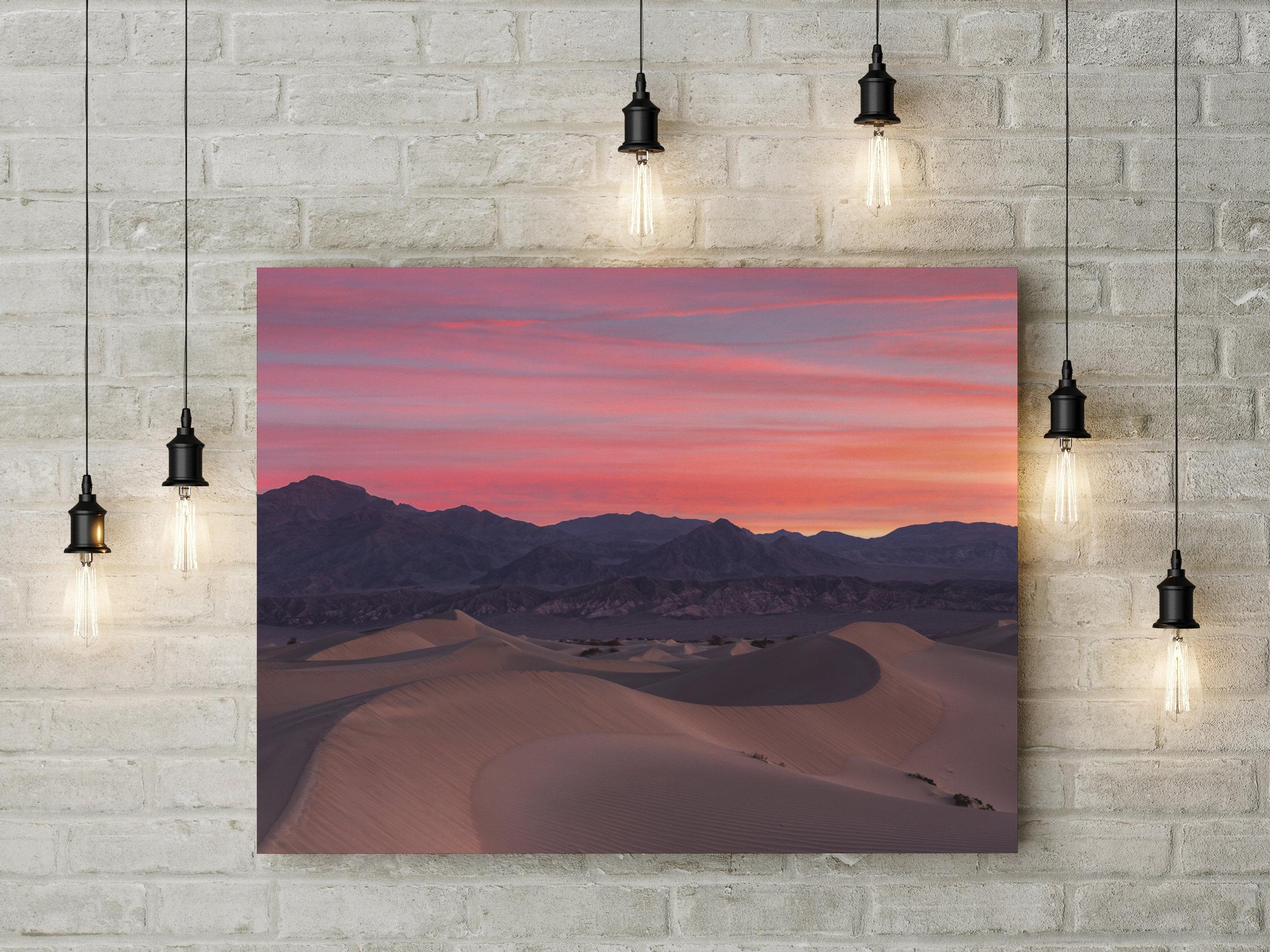 Sand Dune Sunrise Wide
