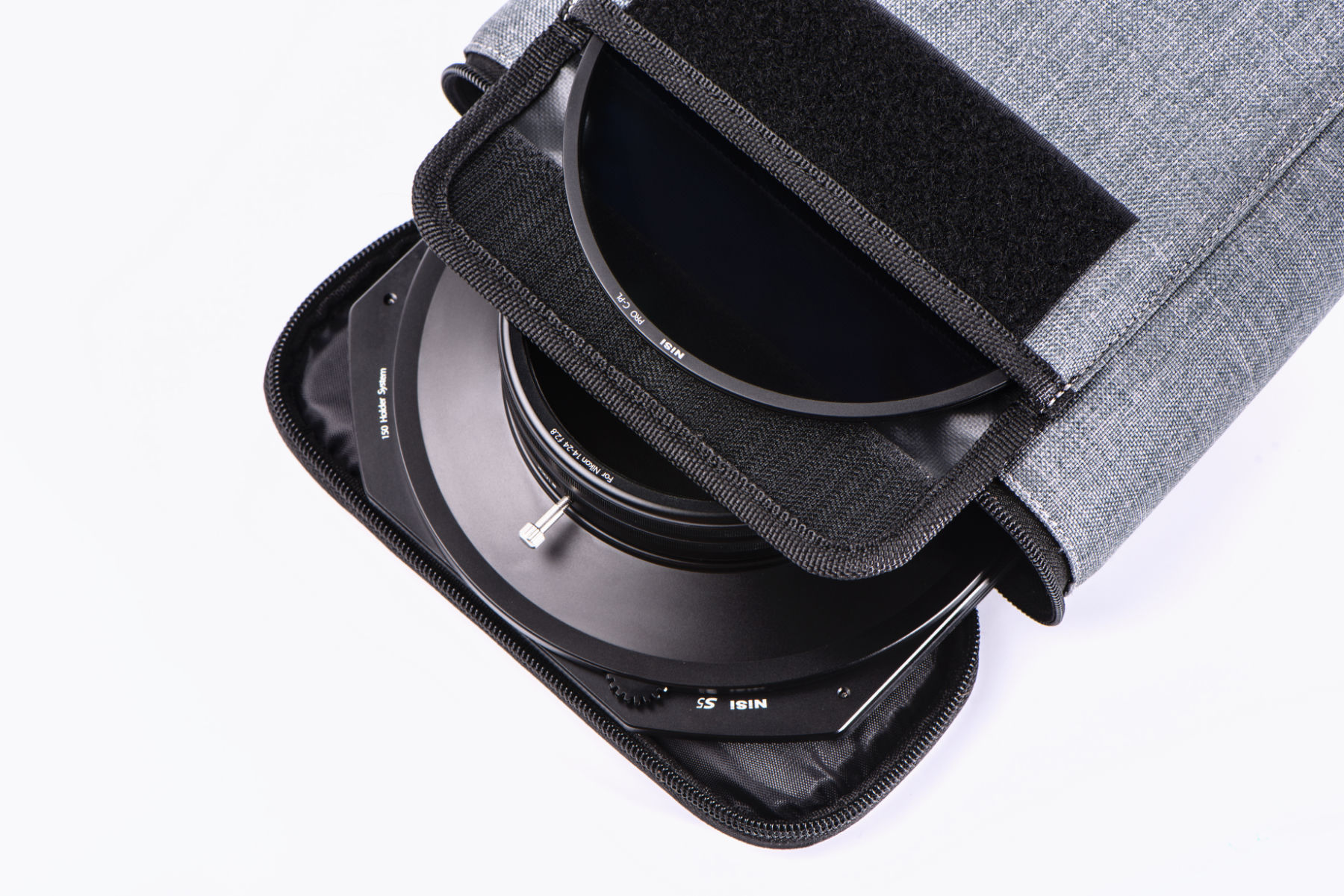 NiSi 150mm System Filter Pouch Hold up to 8 pcs 150mm-wide or S5 Circular Filters