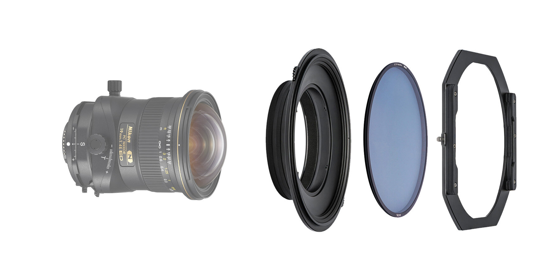 NiSi S5 Adapter Only for Nikon PC 19mm f//4E ED