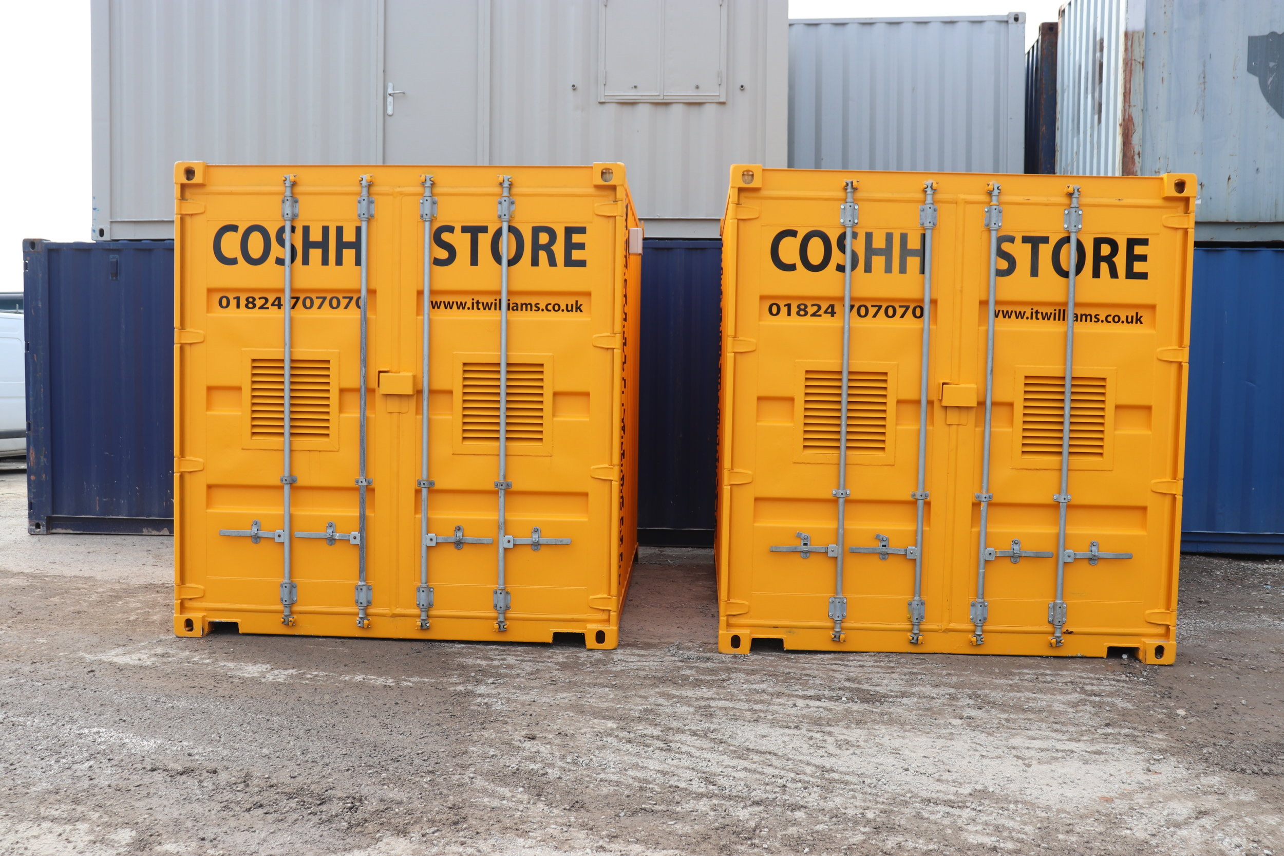 COSHH & Smoking Shelter Containers -
