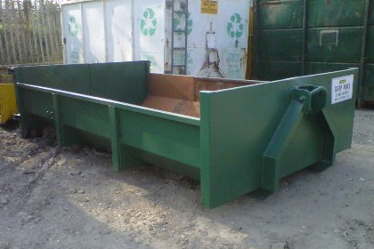 7 Ton Low Sided Skip