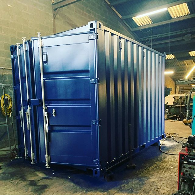 Busy week so far in the workshop. All sorts of shapes and sizes being made up. #containerconversion #shippingcontainer #storagecontainer