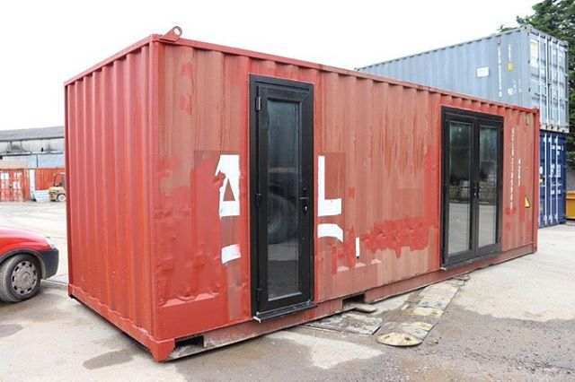 Fancy a DIY project? Garden room, home office, extra bedroom? Why not get a bespoke shipping container converted to your specification to finish off your self? Or get us to do it all for you! Call 01824 707070