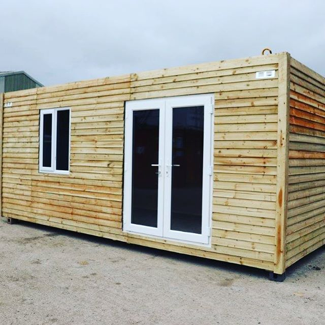 Just a few examples of the container garden rooms and garden sheds we've recently built #containerconversion