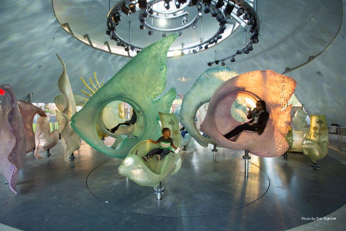 Battery Park Sea Glass Carousel