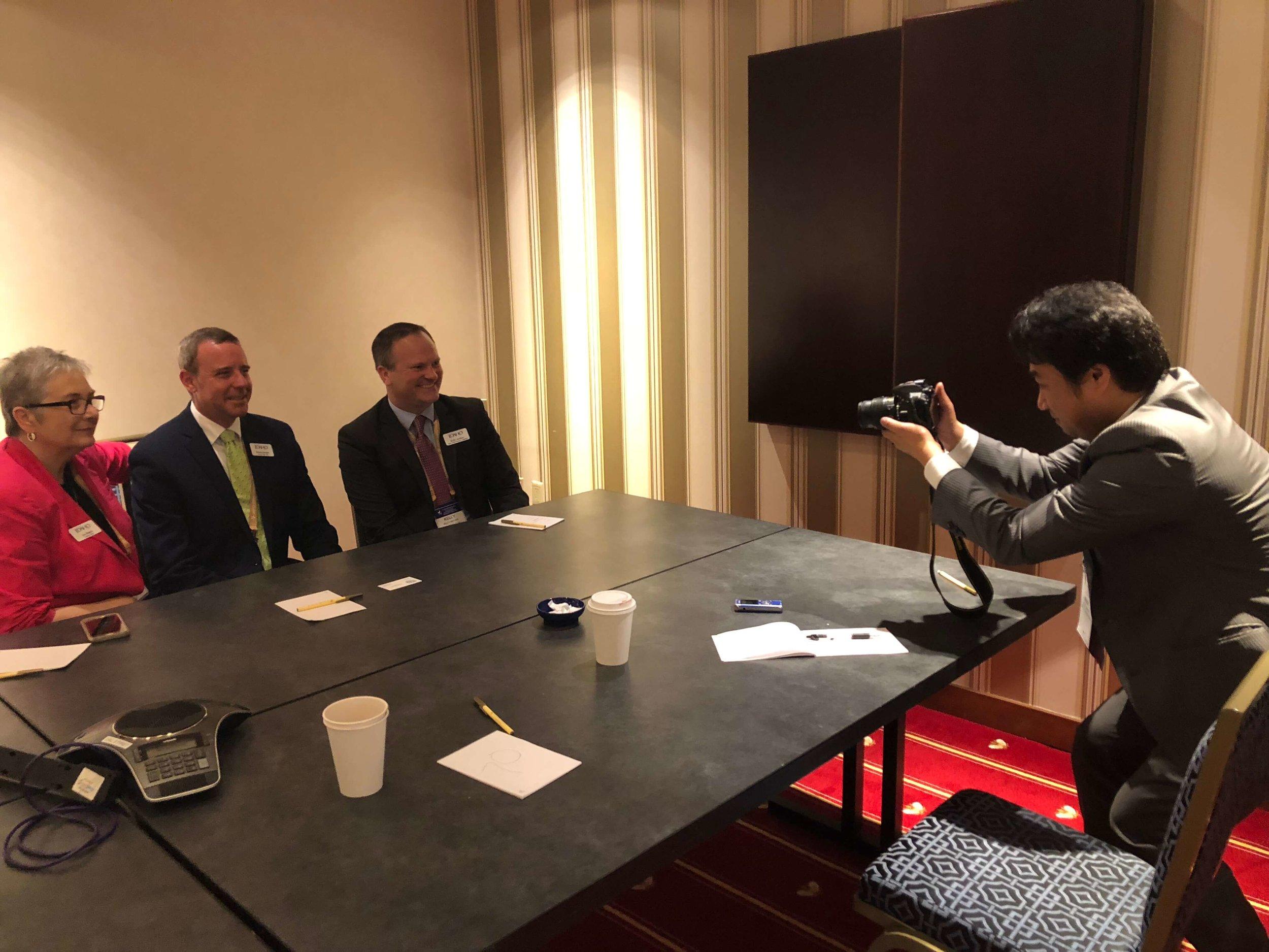 Idaho with reporter Kenji Shimizu.jpg