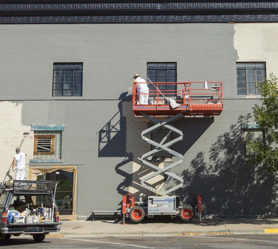 Downtown Laramie building improvements