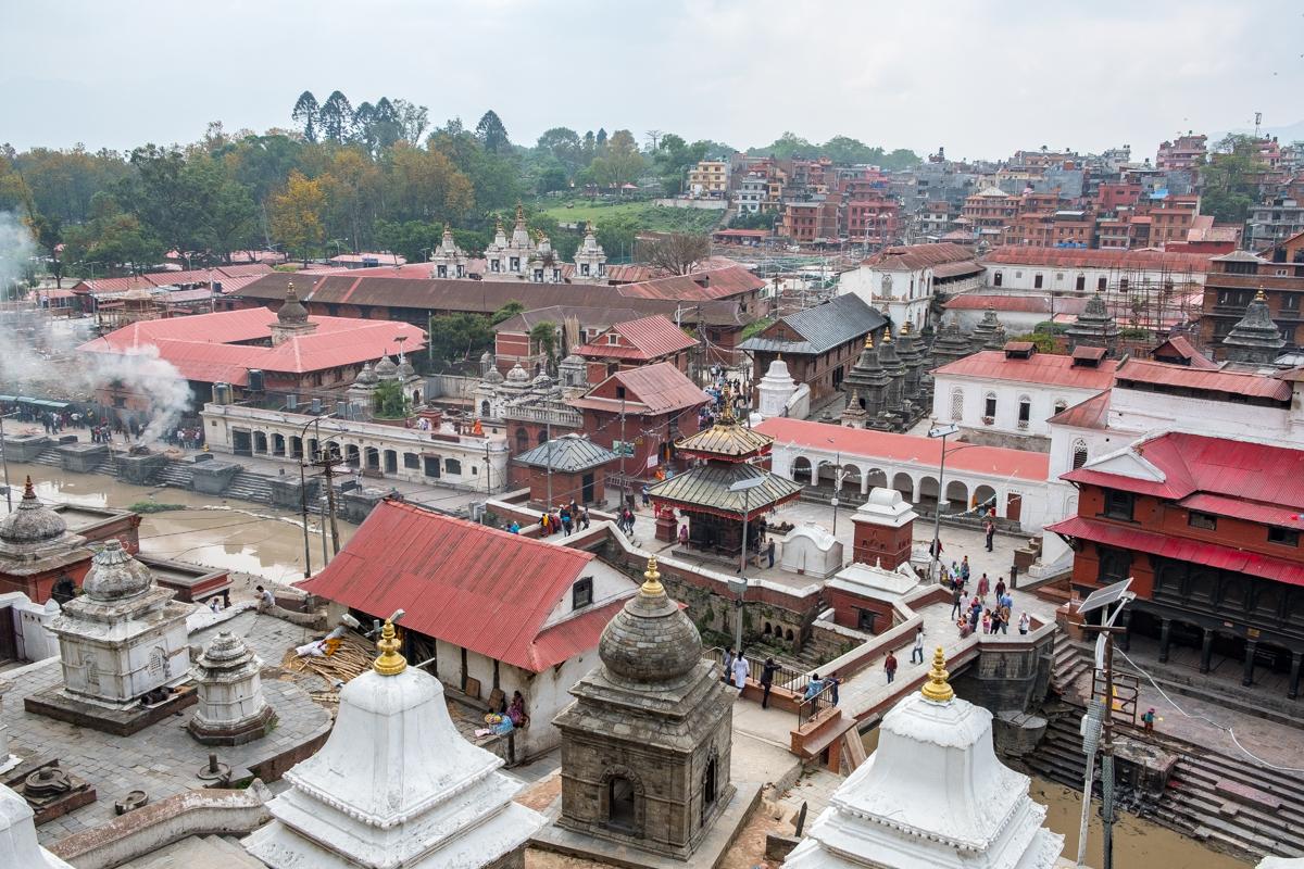 Pashupatinath Temple, Kathmandu, Nepal.