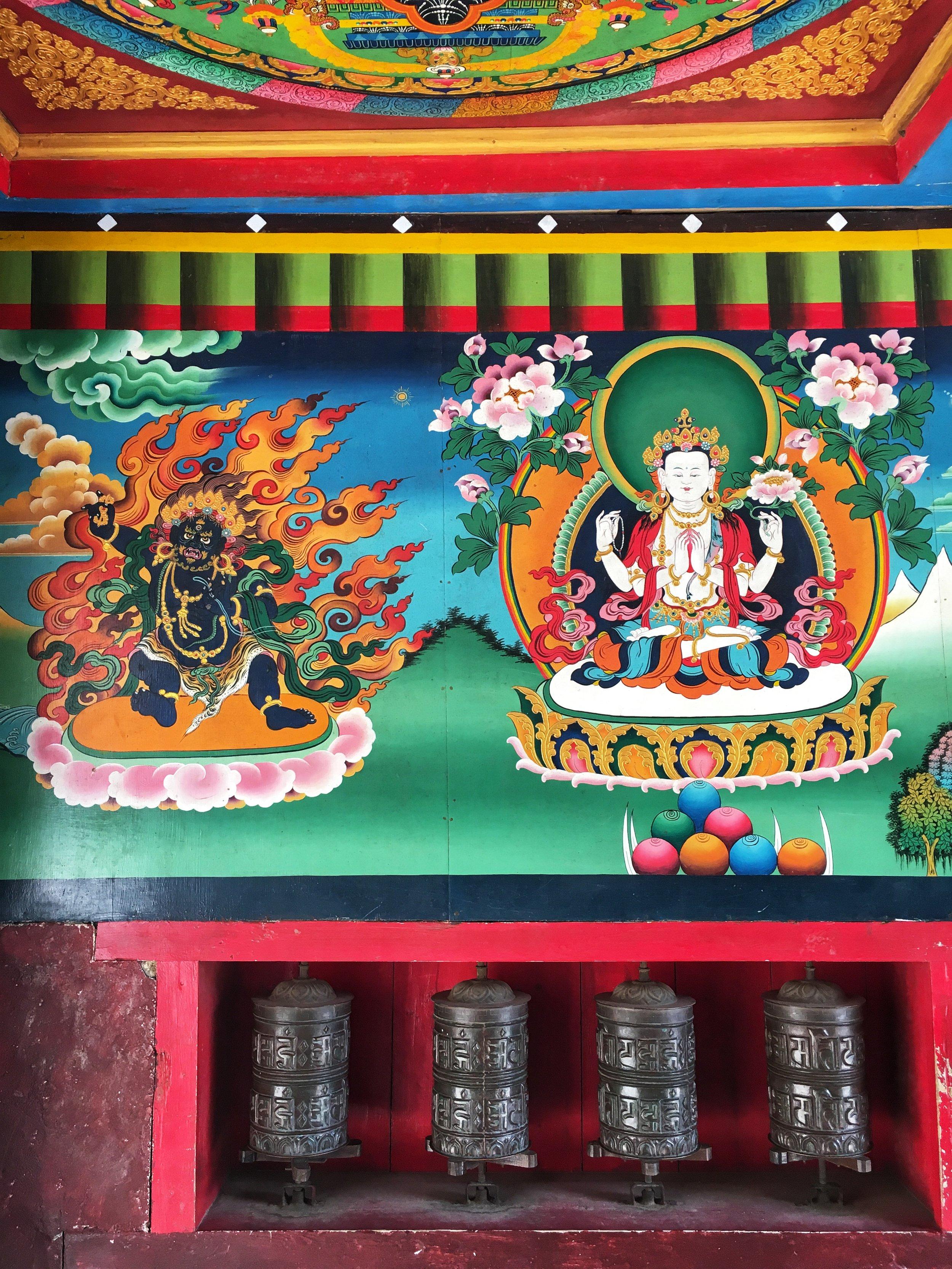 Inside the Sagarmatha entrance gate, Nepal.