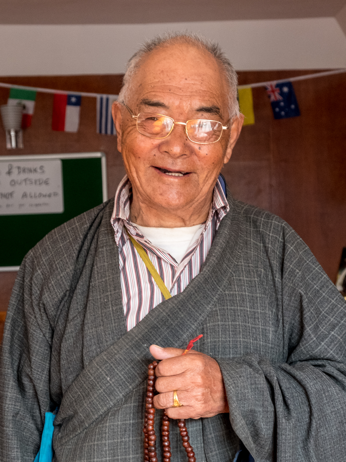 Kanchha Sherpa, 85, last living member of Hillary's 1953 Mt. Everest Expedition.