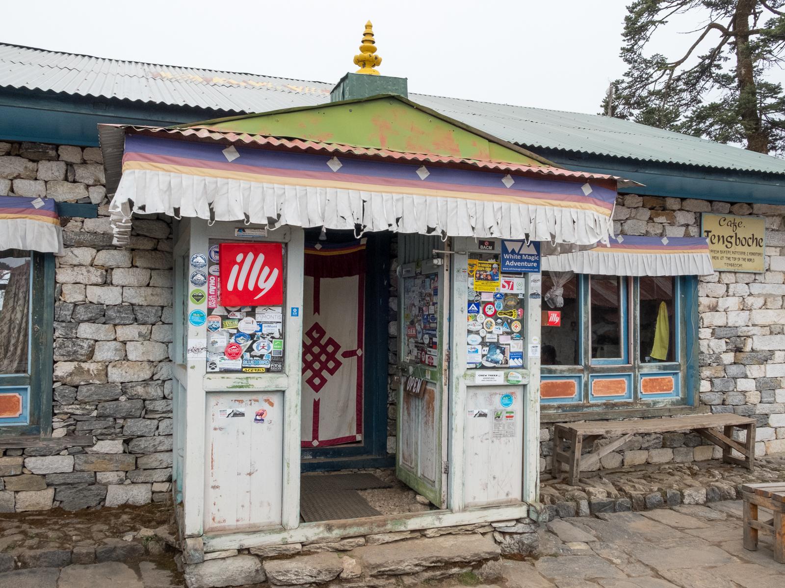 Cafe Tengboche, Tengboche, Nepal.