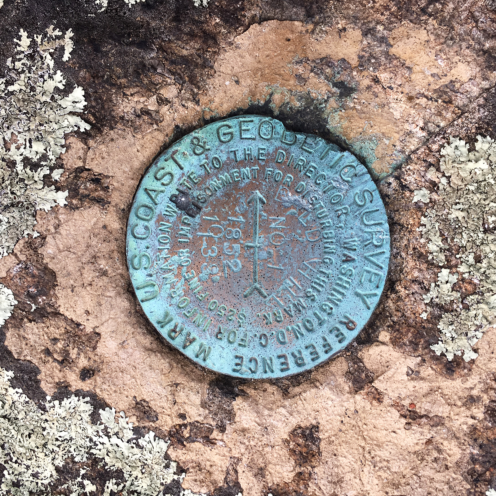 Fishkill Ridge Geodetic Survey Marker.jpg