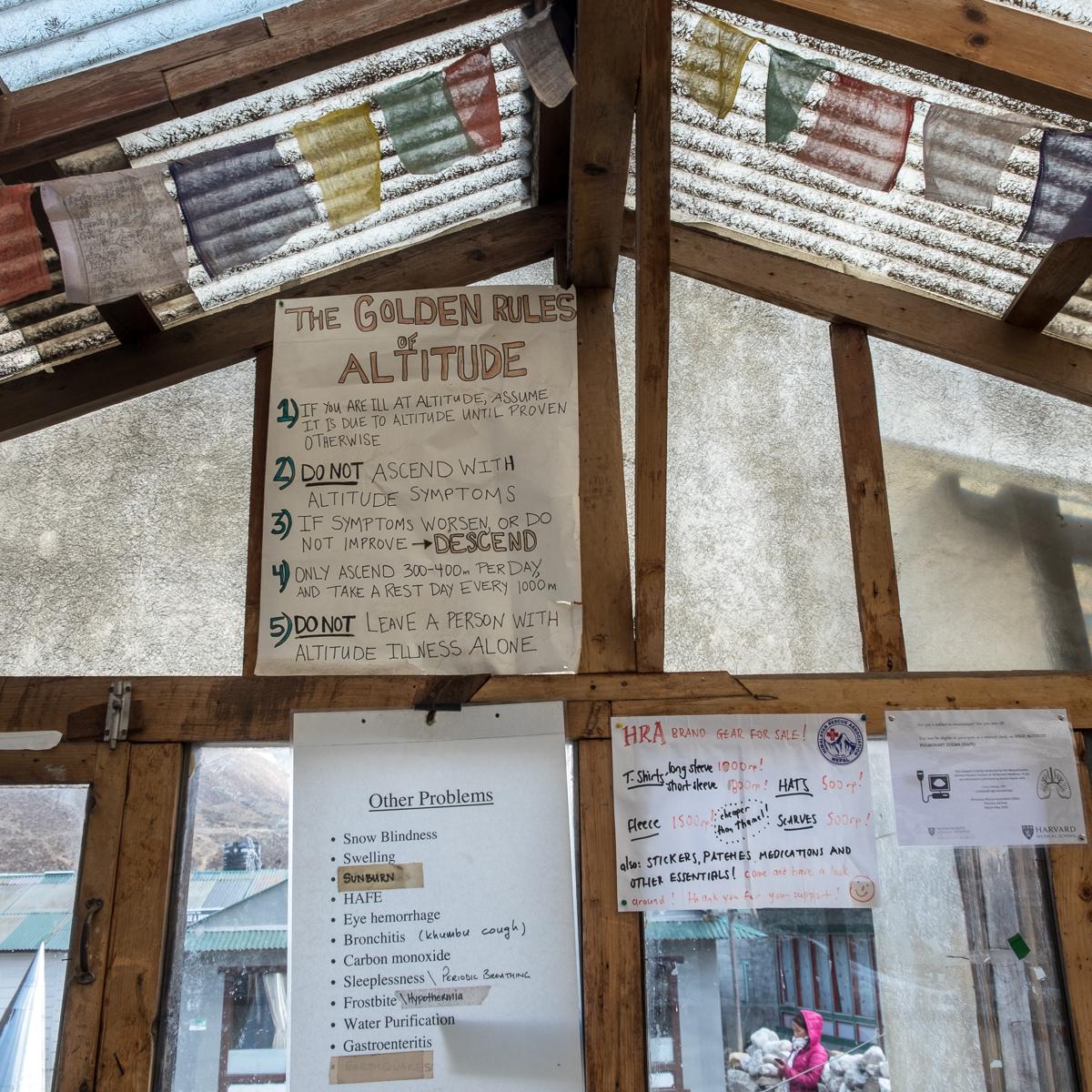 Altitude hikers take heed!