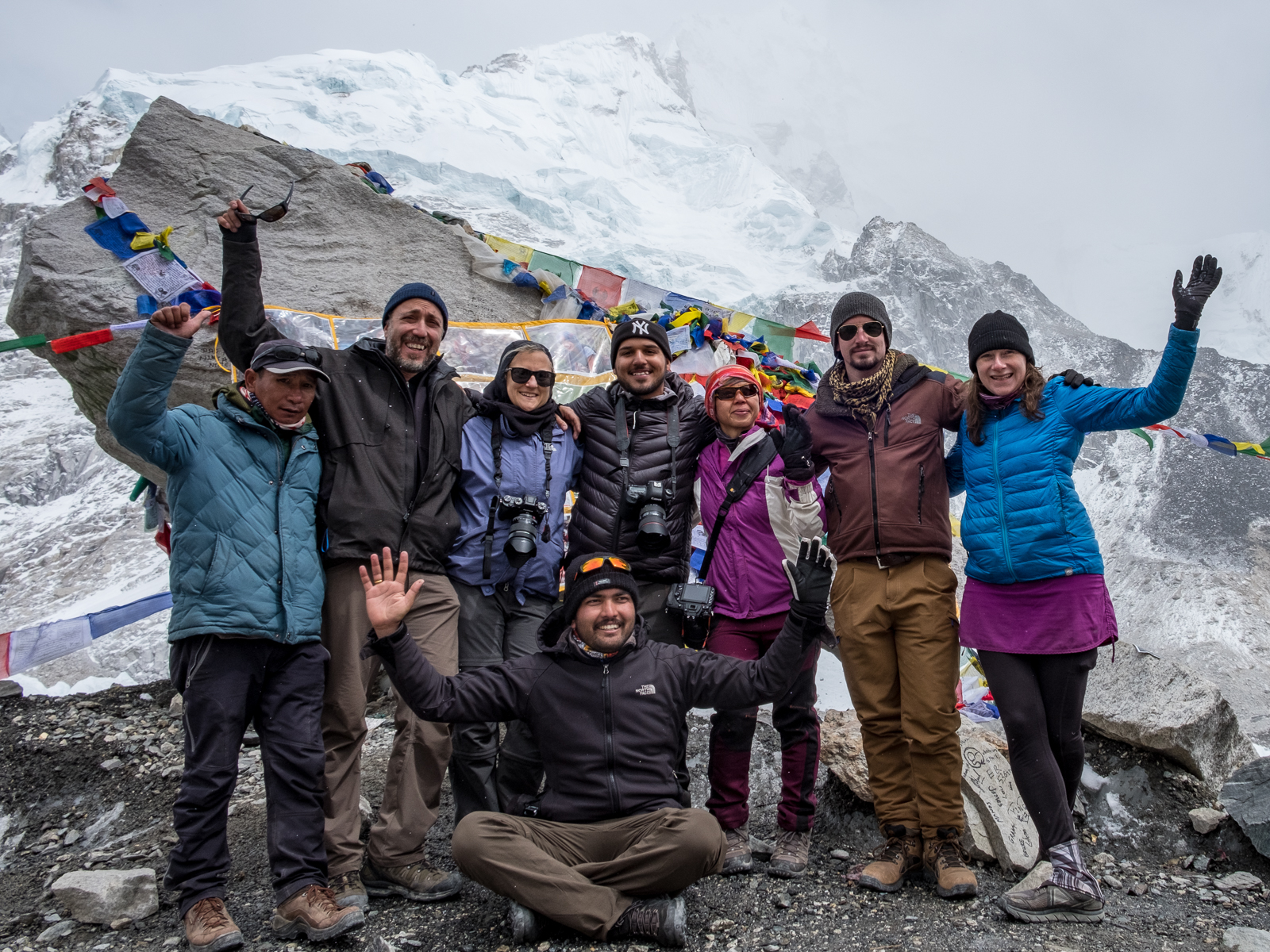We did it! Wahoo for the Camera Voyages Team! NYC represent, represent-sent!!