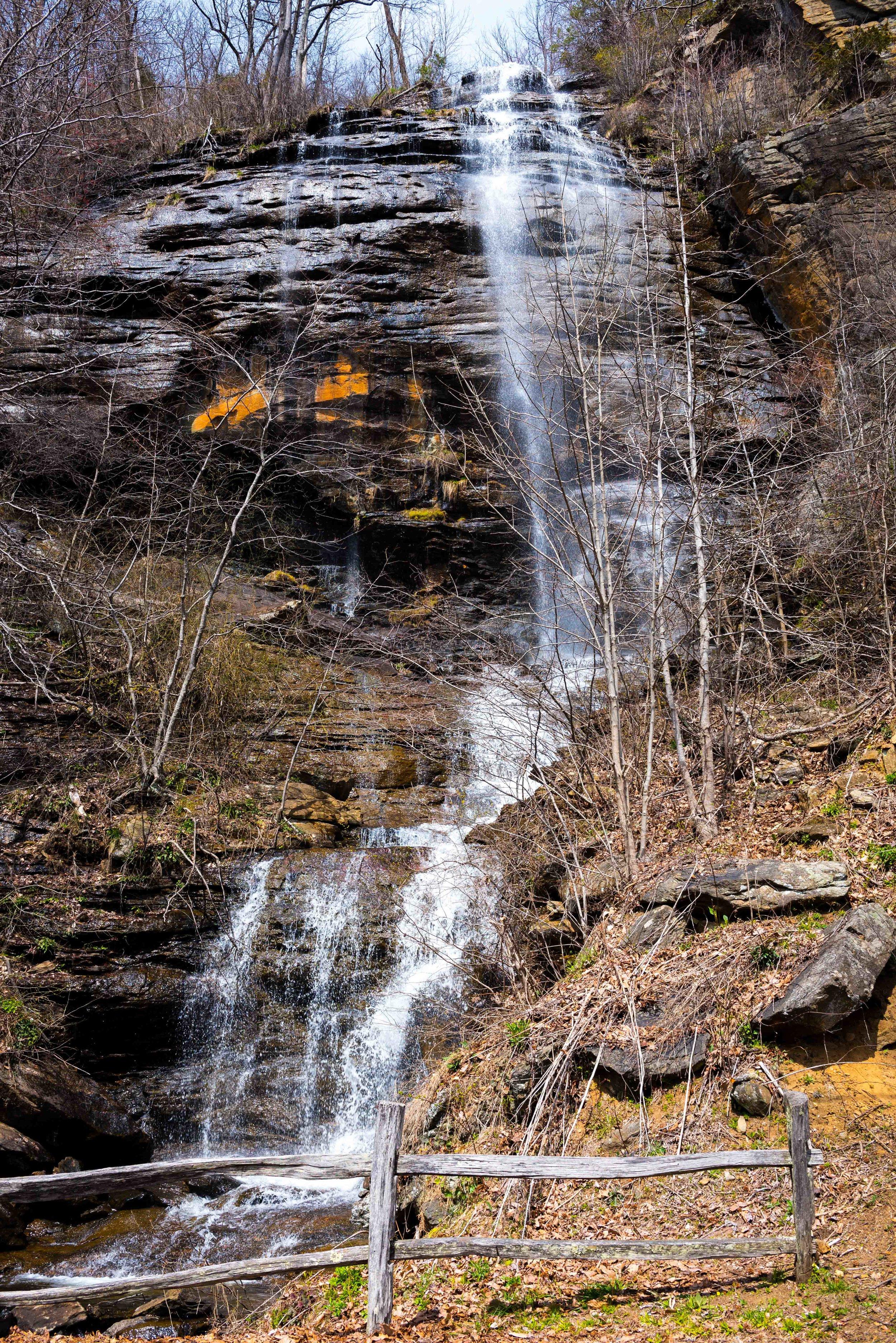 Shunkawauken Falls, Columbus, North Carolina