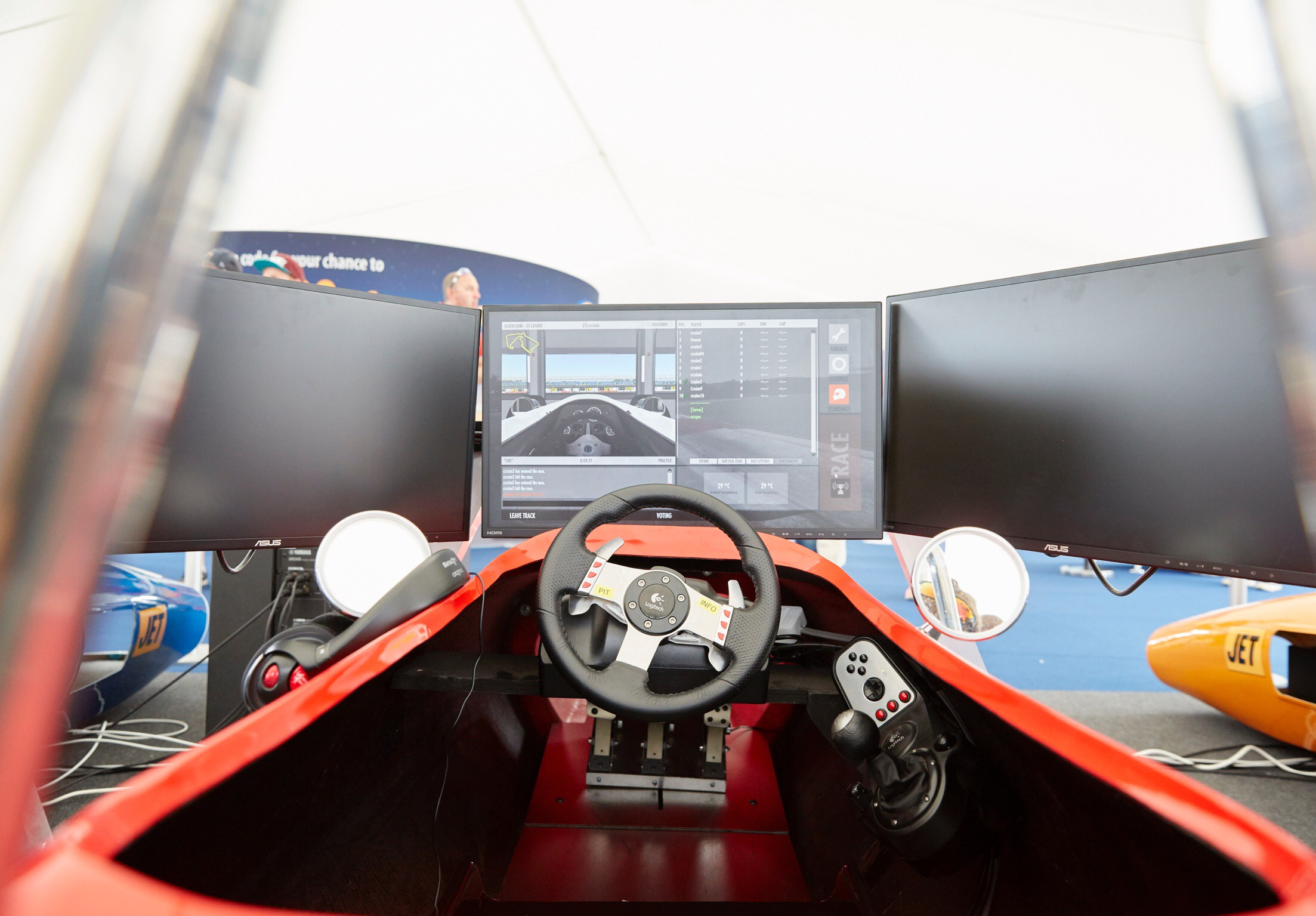 Get your own Classic Race Simulator! - If your lucky enough to have a custom made racing simulator in your home or venue, you've come to the right place! With an array of options available, we can custom build any simulator to fit your requirements & specifications. With built in state of the art software & a user friendly setup, this is the elite level of simulator racing.