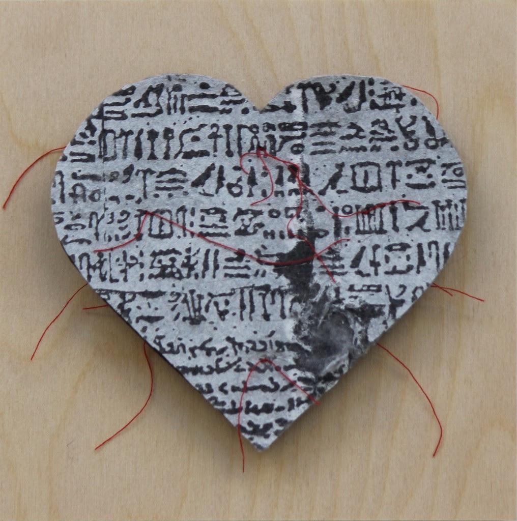 Gordana Olujic Dosic, Rosetta Heart, 2017, mixed-media.jpg